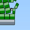 Blosics 2 - Knock the green blocks off the map in various ways...