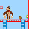 Konkey Dong - Play the villain and stop mario getting to the princess!